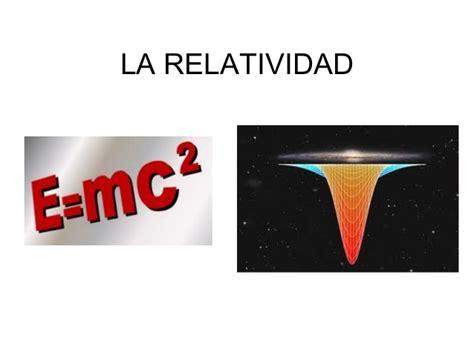 La relatividad