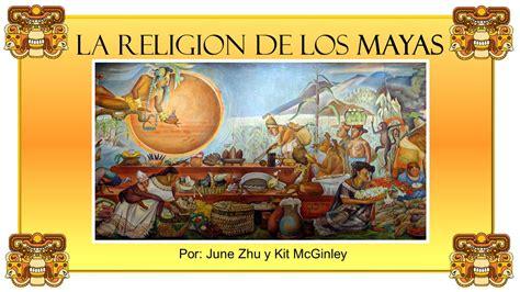 La religion de los mayas   ppt video online descargar