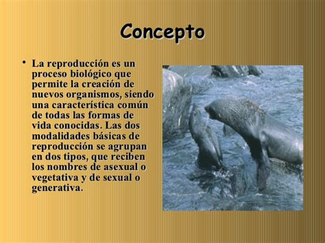 La reproducción de los seres vivos
