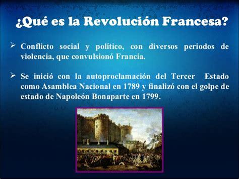 La revolucion francesa causas