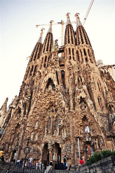 La Sagrada Familia In Barcelona, Spain Editorial Image ...
