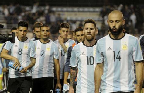 ¿La Selección Argentina clasifica al Mundial Rusia 2018 ...