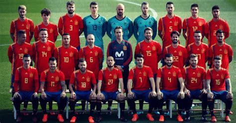 La selección española anuncia la convocatoria del Mundial ...