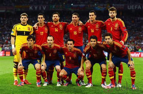 La Selección Española en la final de la Eurocopa 2012 ...