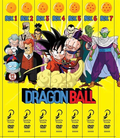 La serie completa de Dragon Ball en oferta