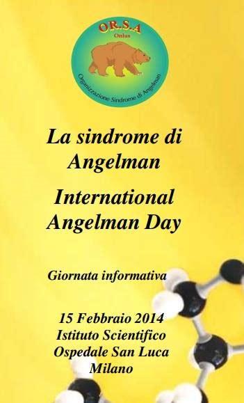 La sindrome di Angelman - International Angelman Day ...