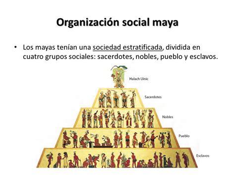 La Sociedad Maya Objetivo: Reconocer las características y ...