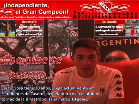 La tapa de  ¡Independiente, el Gran Campeón!  de la semana ...