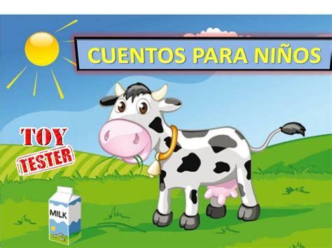 La ternera | Cuentos para niños de animales de granja ...