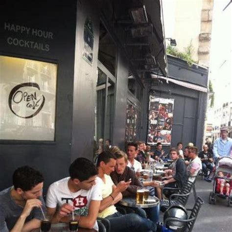 la terrasse de l open cafe - Picture of Open Cafe, Paris ...