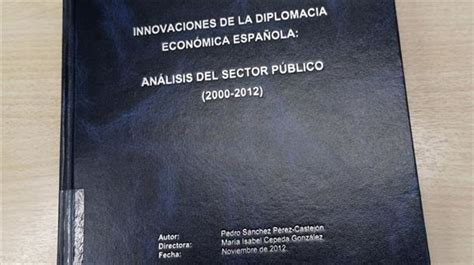 La tesis de Pedro Sánchez supera los análisis antiplagio ...