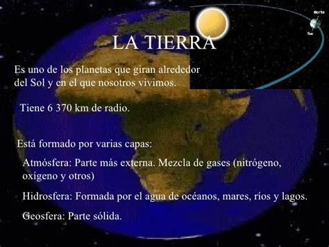 La Tierra Un Planeta Que Cambia.