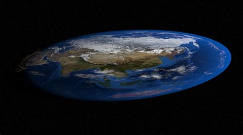 La tierra vuelve a ser plana