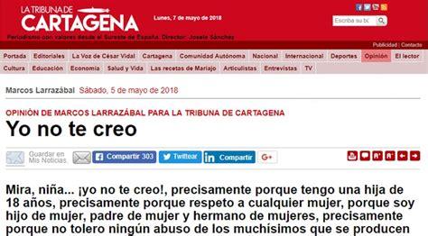 La Tribuna de Cartagena  publica datos personales de la ...