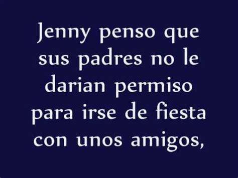 la triste historia de jenny   YouTube