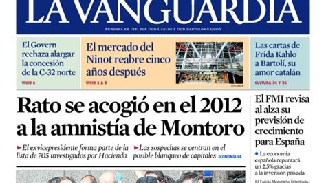 La Vanguardia , el diario que más crece en España
