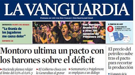 La Vanguardia, líder de Catalunya y tercer diario de España