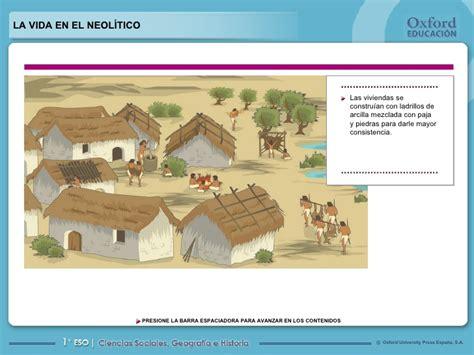 La vida en el neolitico