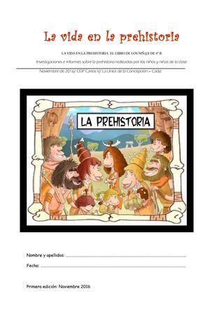 La vida en la prehistoria 4 b libro by Amparo Amador - Issuu