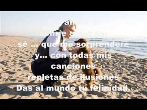 LA VIDA ES BELLA ANDRE BOCELLI   YouTube