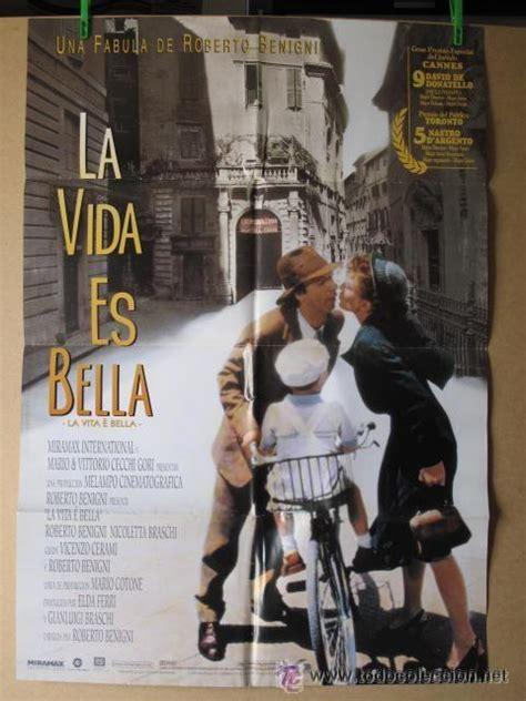 la vida es bella   Comprar Carteles y Posters de películas ...