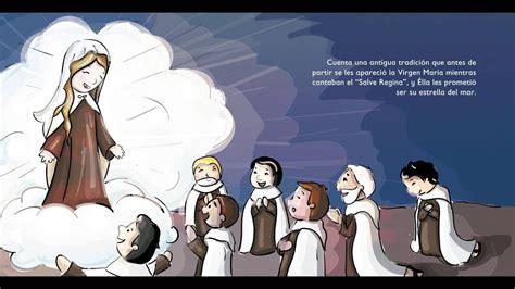 La Virgen del Carmen  Para niños    YouTube