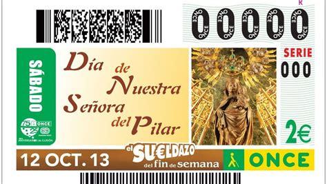 La Virgen del Pilar protagoniza el cupón de la ONCE de ...