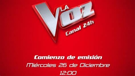 'La Voz' tendrá un canal 24 horas a través de Atresplayer