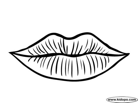 Labios para colorear e imprimir   Imagui