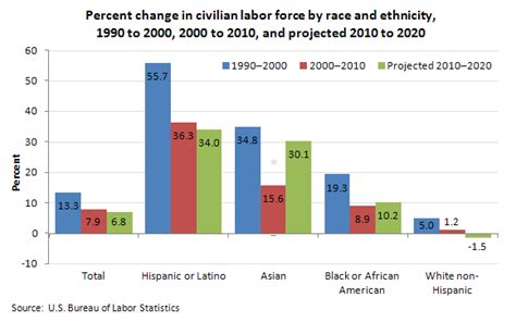 Labor Force Projections to 2020 : The Economics Daily : U ...