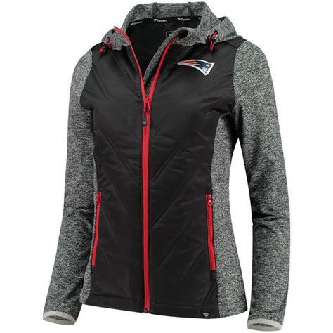 Ladies Fanatics Static Full Zip Jacket   Patriots ProShop