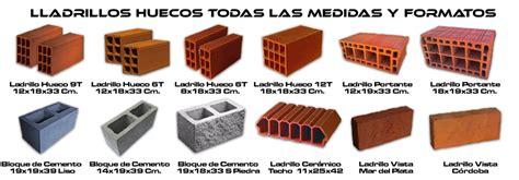 Ladrillos huecos medidas – Materiales de construcción para ...
