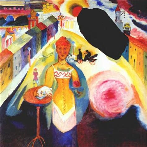Lady in Moscow   Wassily Kandinsky   WikiPaintings.org