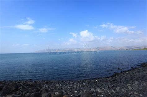 Lago Tiberíades O Mar De Galilea O De Kinneret Imagen de ...
