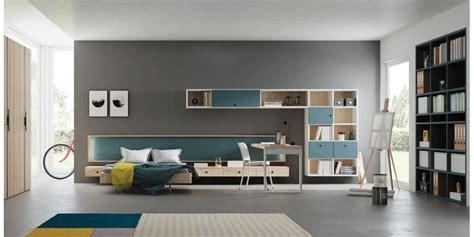 LAGRAMA Dormitorio juvenil moderno cama grande Nantes ...