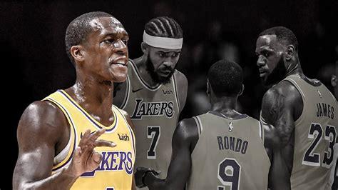 Lakers news: Rajon Rondo surprised by LeBron James' leadership