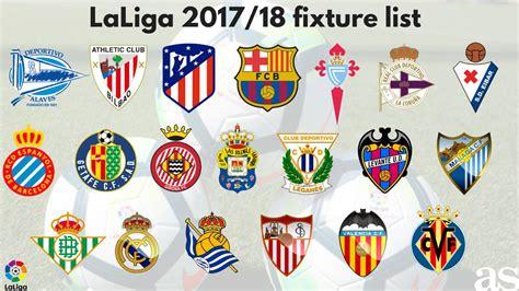 LaLiga Santander 2017/18 season fixture list: How it ...