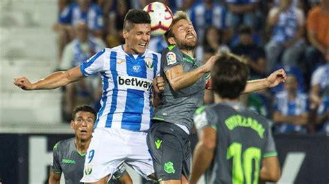 LaLiga Santander 2018-2019: Resultado Leganés- Real ...