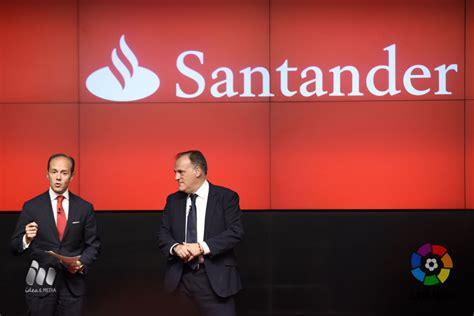 LaLiga Santander por 3 años