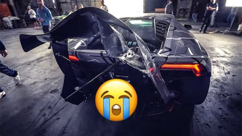 LAMBORGHINI CRASHES IN JAKE PAUL MUSIC VIDEO RANDY SAVAGE ...