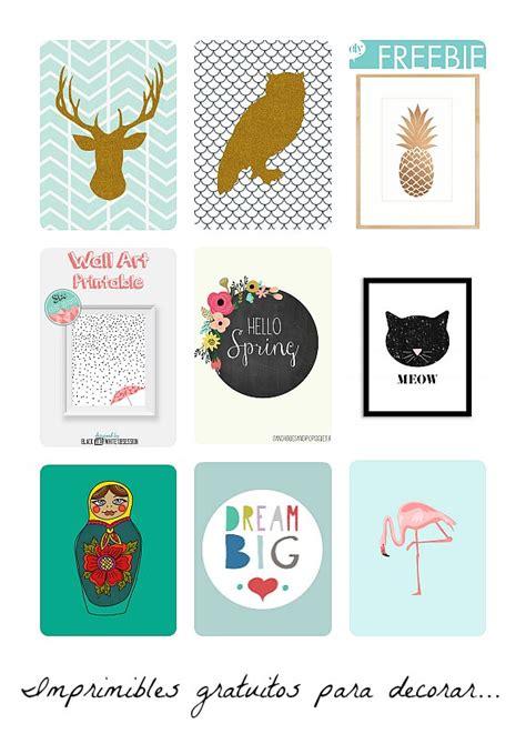 Láminas imprimibles gratis para decorar | DECORACIÓN BEBÉS
