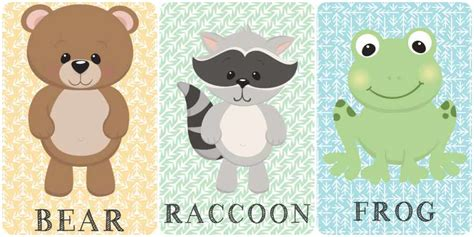 Láminas para cuadros de animales ¡gratis!