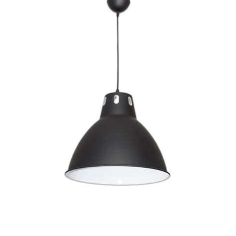 Lámpara colgante de diseño en color negro
