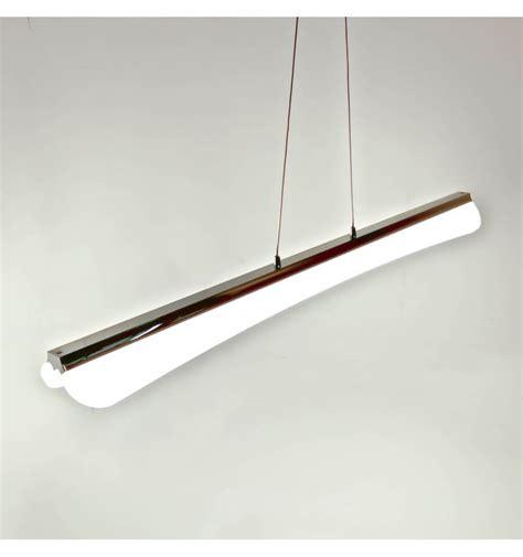Lámpara de techo LED de diseño de cromo - Horizon