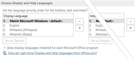 Language Accessory Pack for Office 2016   Office Support