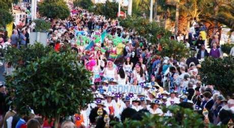 Lanzarote ON - Puerto Del Carmen Carnival 2017