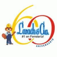 Larach & Cia. 60 años logo vector   Logovector.net