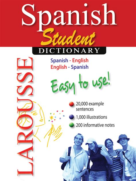 LAROUSSE STUDENT SPANISH ENGLISH DICTIONARY-Carlex Online.com