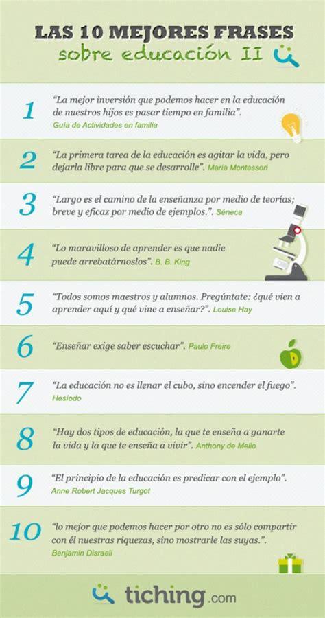 Las 10 mejores frases sobre educación (2) | Amigos del ...