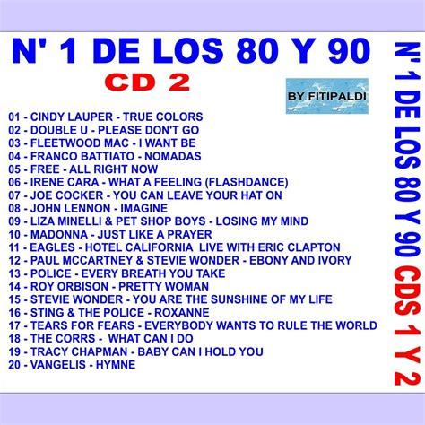 Las 101 Mejores Canciones De Los 80 Y 90  CD2    comprar ...